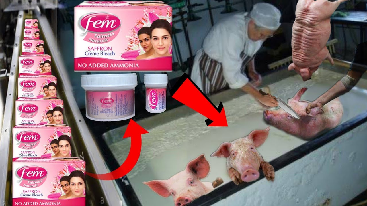 देखिये फैक्टरी मे Fem Bleach क्रीम कैसे बनती है || See how these products are made in the factory