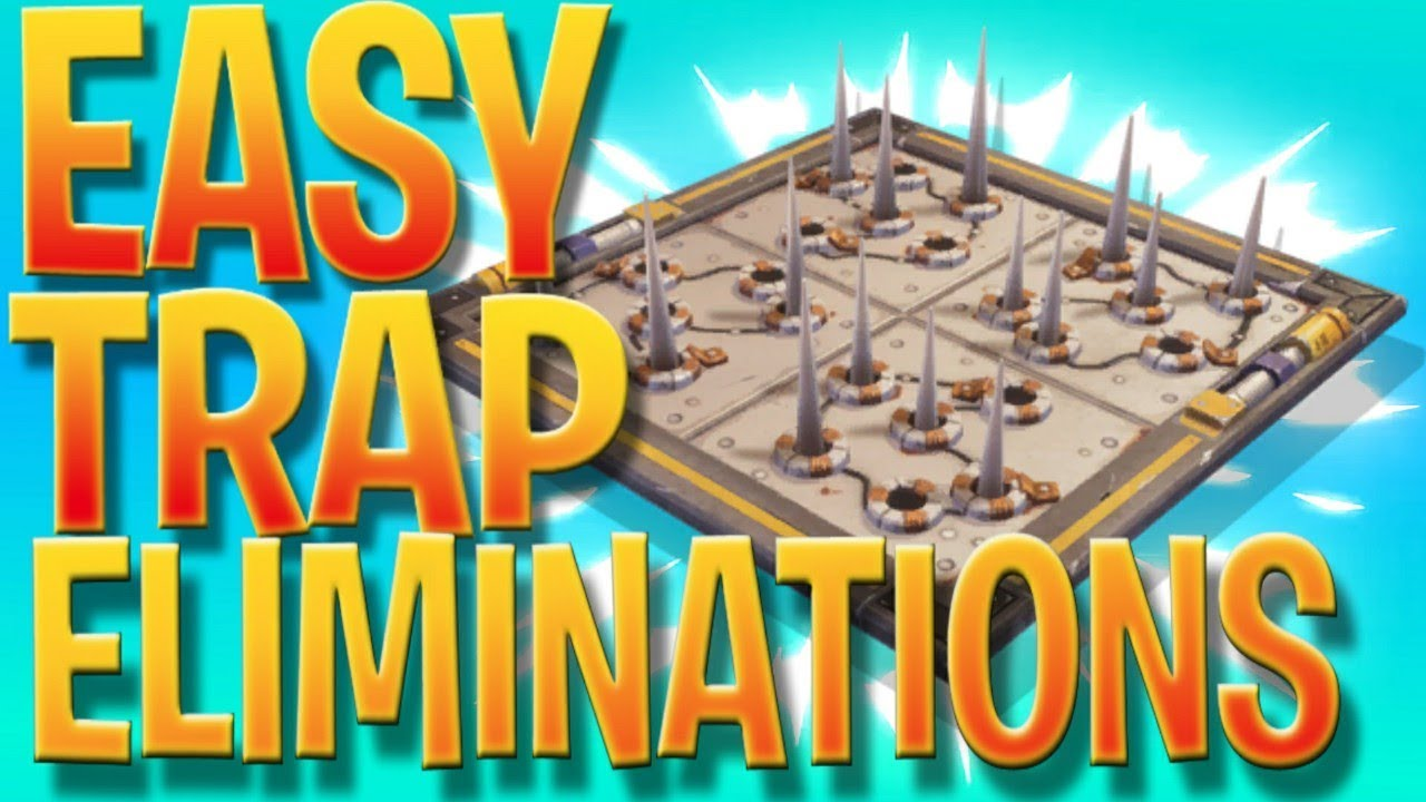 Easy Trap Eliminations - Fortnite Battle Royale Weekly ...