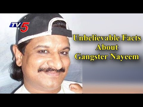 Unbelievable Facts About Gangster Nayeem | Police Seized Nayeem Illegal Assets | TV5 News