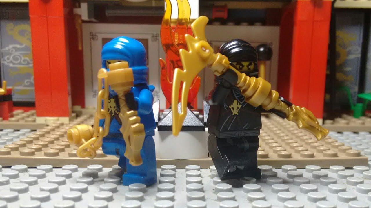 Lego Ninjago How To Build New Legacy Golden Weapons Youtube