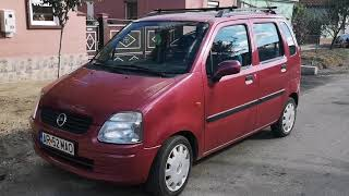 Opel agila 1.2 cmc - 2001 Interior and exterior review