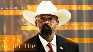 Sheriff Clarke plagiarized parts of thesis
