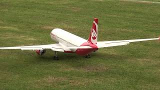 3x RC Airliner iljuschin 62 Airbus A-340 and A-330 Air Berlin crashed
