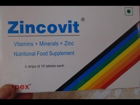 Zincovit No More Hair Loss And Acne With Zincovit Medicine