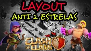CLASH OF CLANS - LAYOUT ANTI 2 ESTRELAS, CC 3 | 'BEST' Builder Hall 3| ANTI- 2 STAR (Th3/Bh3)