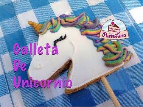 Galleta De Unicornio Unicorn Cookie