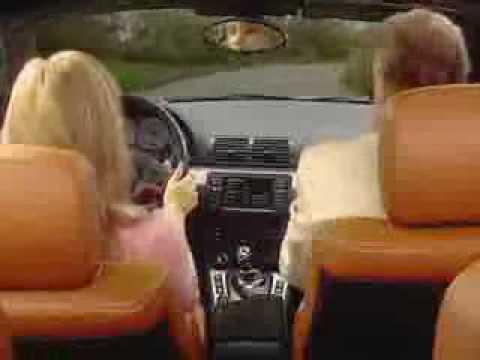 blondynka za kierownica :)