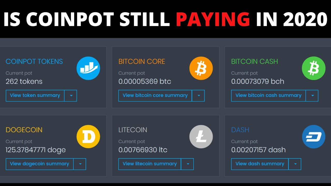 Is coinpot website still paying or not in the end of 2020 June