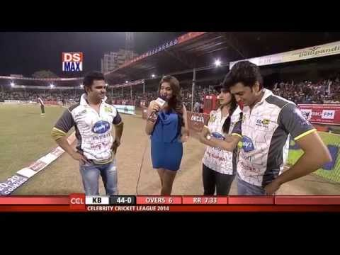 Sachiin Joshi, Riteish Deshmukh, Genelia D'Souza Interview - CCL4