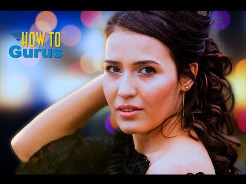 How to Replace a Background with a Bokeh Effect in Adobe Photoshop Elements 15 14 13 12 11 Tutorial