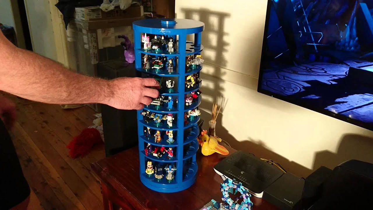 Lego Dimensions storage and display carousel - YouTube