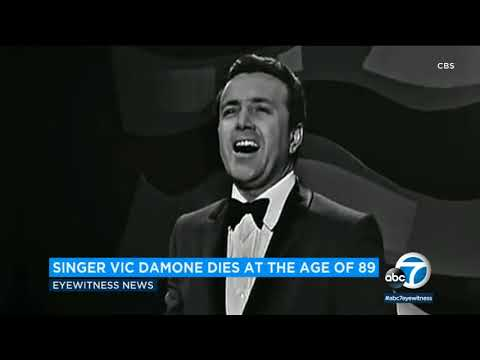 Vic Damone, baritone-voiced crooner who sold millions of records, dies I ABC7