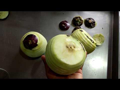 Eggplant peeling machine how to prepare eggplant