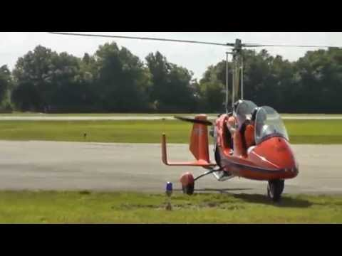 Autogyro Flight 2015 Bensen Days Wauchula FL