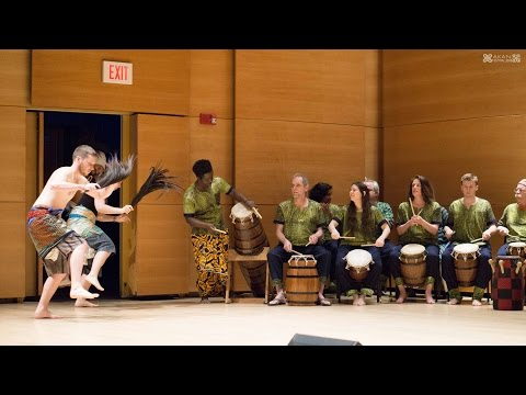 Agbekor (Slow and Fast) - Agbekor Drum and Dance Society @ Akan Festival 2016 - Tufts University