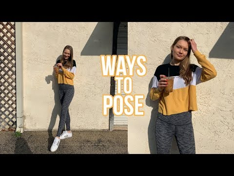 How To Pose In Photos! 10 EASY Poses For Instagram