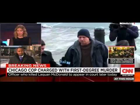 Officer charged with 1st degree murder for killing Laquan McDonald