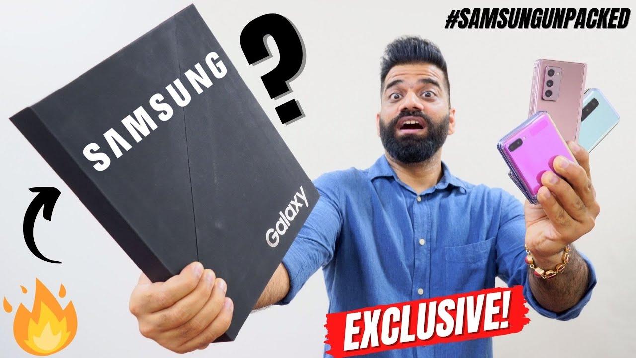 Samsung Sent An Exclusive Mystery Box #SamsungUnpacked🔥🔥🔥