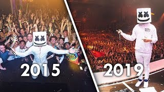 How Marshmello's Music Has Changed Over Time (2015 - 2019)