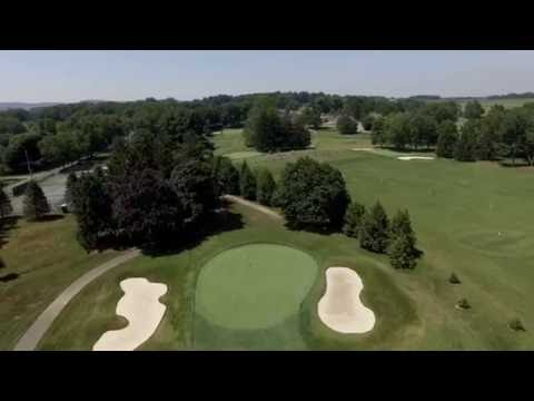 Lebanon Country Club full course view