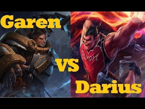 EPIC DENY! - Garen VS Dunkmaster Darius - League of Legends Live Commentary