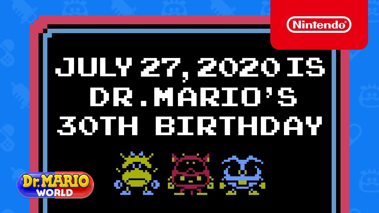 Do you know that Dr Mario World added 8-bit Dr Mario for series' 30th anniversary?