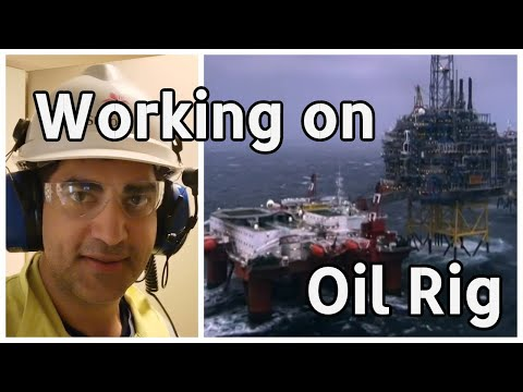 Working on an Oil Rig | My Trip to Oil Platform | Day Routine of a Petroleum Engineer Offshore