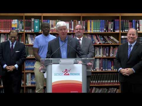 Detroit Promise Press Conference