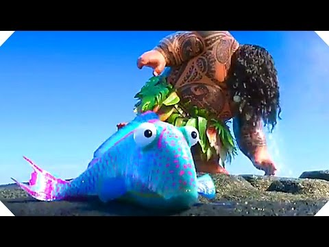 "Disney's MOANA - ""Gone Fishing"" - Blu Ray Bonus Clip ! (Animation, 2017)"