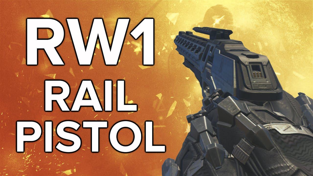 Advanced Warfare In Depth Rw1 Rail Pistol Review Variants Guide You