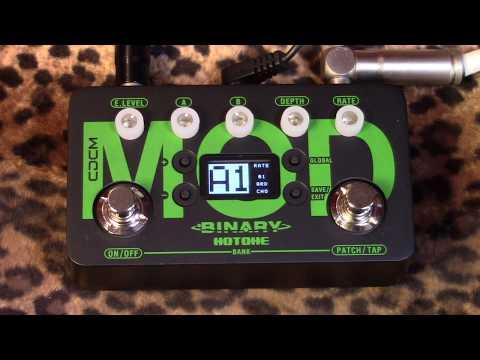 Hotone Binary Series MOD pedal of modulation