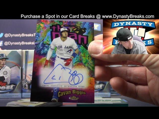 2020 Topps Finest Baseball Card 8 Box Case Break #4   Sports Cards
