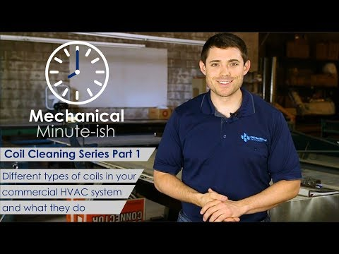 Commercial HVAC Coil Cleaning - Part 1 - Mechanical Minute-ish