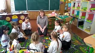 """Ранкова зустріч + урок з курсу Я Досліджую світ у 1 класі  на тему """"Якими бувають тварини ?"""""""