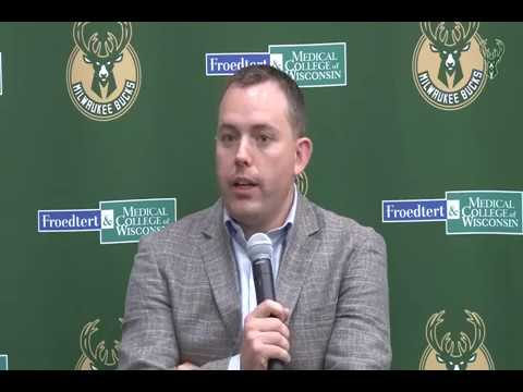 Bucks extend contract of GM Jon Horst