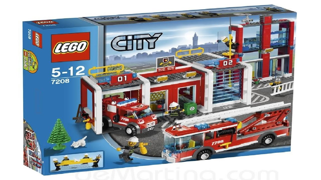 Lego City Sets Speed Build
