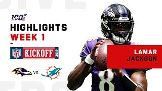 Lamar Jackson POPS OFF w/ 5 TDs & 324 Yds! | NFL 2019 Highlights