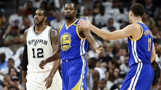 Golden State Warriors vs San Antonio Spurs - 1st Half Highlights   G3   May 20, 2017   NBA Playoffs