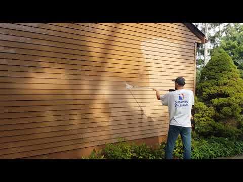 Paint Medics pressure washing project