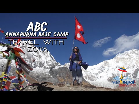 Travel With Zoya || Annapurna Base Camp (ABC), Visit Nepal 2020