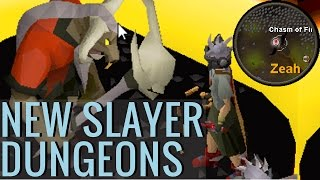 New Slayer Dungeons (Locations & Monsters)