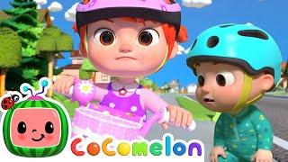 Download lagu You Can Ride a Bike!   CoComelon Nursery Rhymes & Baby Songs   Moonbug Kids