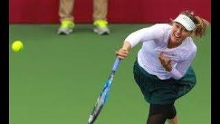 Maria Sharapova vs Aryna Sabalenka Tianjin Open Final 2017  Highlights HD