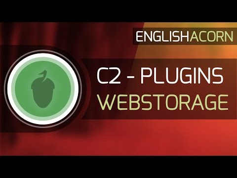Construct 2 Plugins - Webstorage