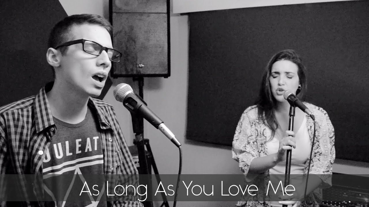 AS LONG AS YOU LOVE ME - Justin Bieber (cover por BajoNingunTermino)