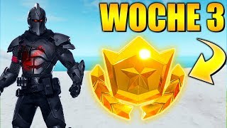 Week 3 ⭐ GEHEIMER Battle Pass Star | Fortnite Season 10 German