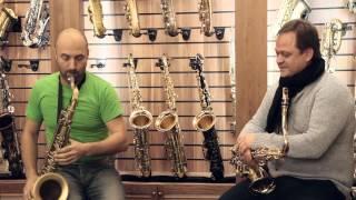 Тест саксофонов Henri Selmer. Антон Румянцев и Антон Залетаев.