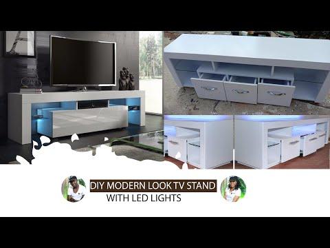 DIY MODERN CONSOLE