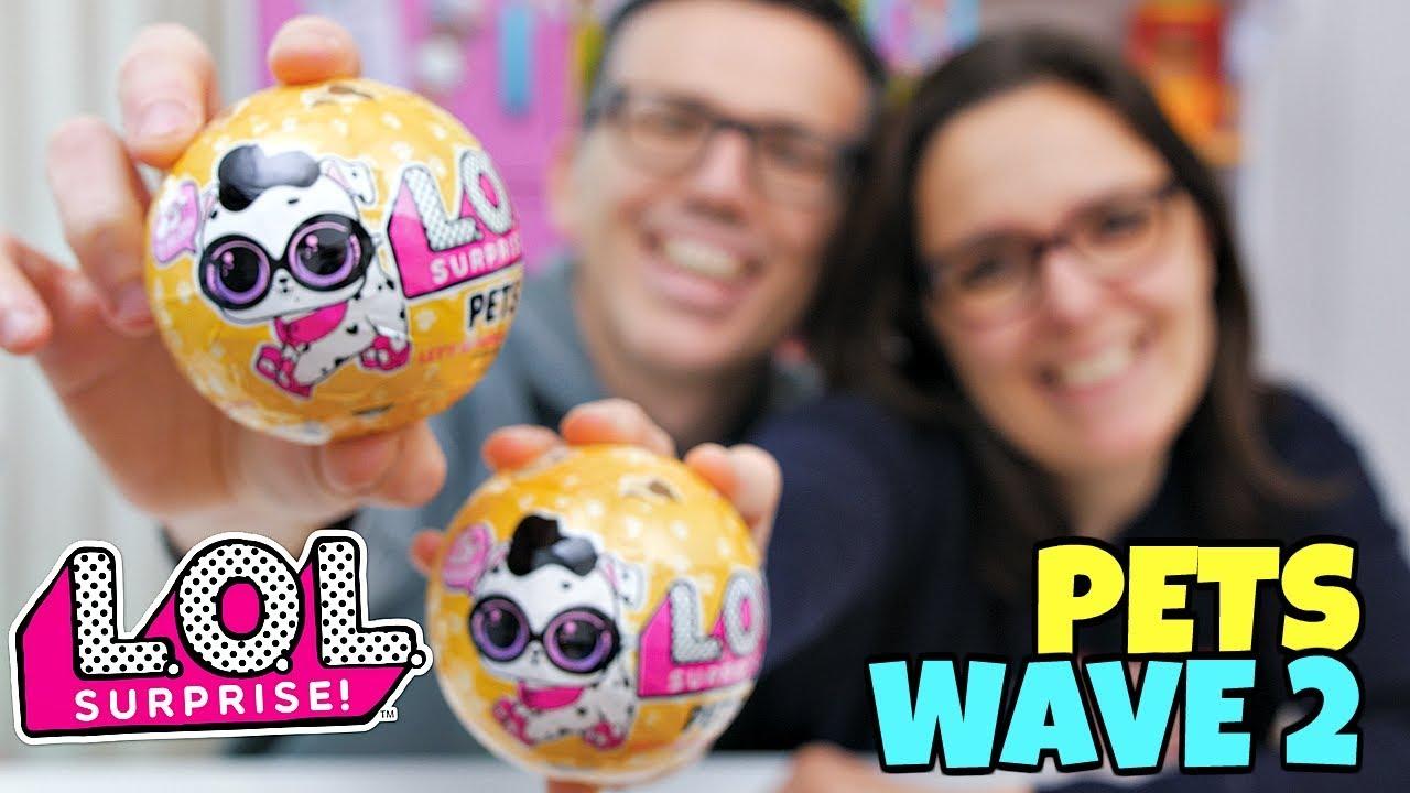 Lol Surprise Pets Wave 2 Apertura Di Coppia Youtube