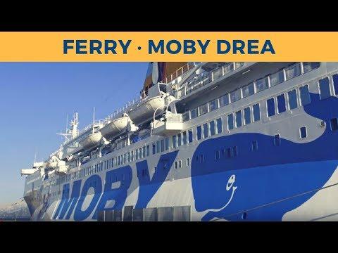 Passage ferry MOBY DREA, Olbia-Genova (Moby Lines)